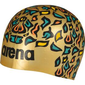 arena Poolish Moulded Gorro de natación, animalier gold